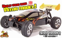 Condor Zelf Bouw Nitro Rc Buggy Kit