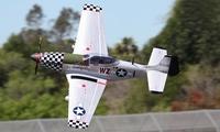 P51 Mustang Grote Schaal RC Vliegtuig Zilver ARF Versie