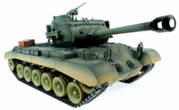 Handgeschilderde 1/16 M26 Pershing BB rc tank Pro versie
