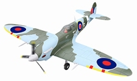Spitfire 4Ch RC vliegtuig met retracts 2.4GHz RTF